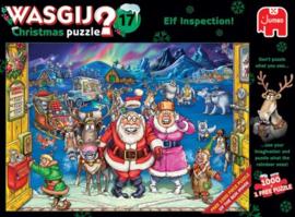 Wasgij Christmas 17 - Elfinspectie - 2x1000 stukjes