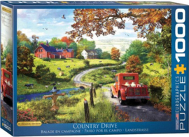 Eurographics 0968 - The Country Drive - 1000 stukjes