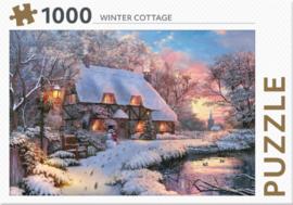 Rebo - Winter Cottage - 1000 stukjes