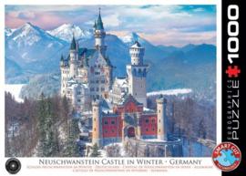 Eurographics 5419 - Neuschwanstein Castle in Winter - 1000 stukjes