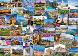 Eurographics 5466 - Globetrotter France - 1000 stukjes