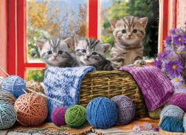 Eurographics - Knittin' Kittens - 500XL stukjes