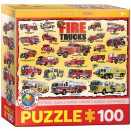 Eurographics 0239 - Fire Trucks - 100XXL stukjes