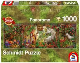 Schmidt - Betoverd Woud - 1000 stukjes  Panorama