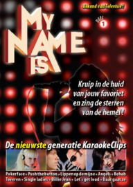 My Name is  (Bekend van Televisie)  KARAOKE.