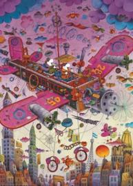 Heye - Fly With Me! - 1000 stukjes  Triangular Box