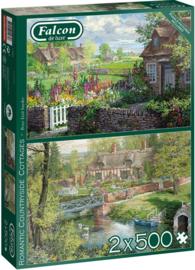 Falcon de Luxe 11261 - Romantic Countryside Cottages - 2x500 stukjes