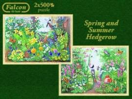 Falcon de Luxe 11104 - Spring & Summer Hedgerow - 2x500 stukjes