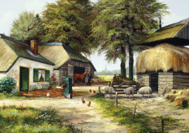 Art Puzzle - Farm House - 1000 stukjes