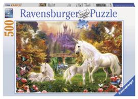 Ravensburger - Betoverde Eenhoorns - 500 stukjes