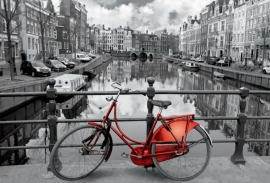 Educa - Amsterdam zwart wit -1000 stukjes