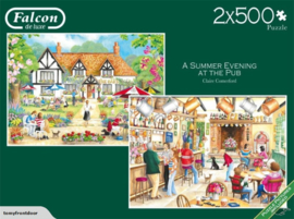 Falcon de Luxe 11242 + a Summer Evening at the Pub - 2x500 stukjes