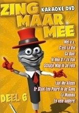 Zing Maar Meer Karaoke dvd  deel 6