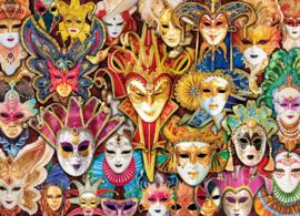 Eurographics 5534 - Venetian Masks - 1000 stukjes