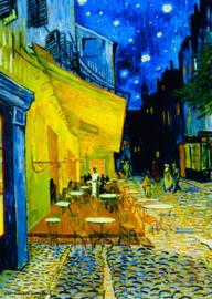 Puzzelman Vincent van Gogh - Cafe Terras bij Nacht - 1000 stukjes