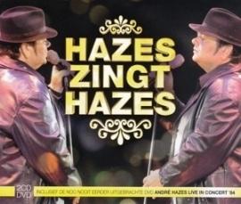 Andre Hazes - Hazes zingt Hazes -  2 cd+dvd