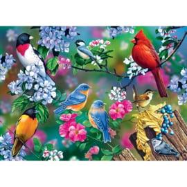 Master Pieces - Songbird Collage - 1000 stukjes