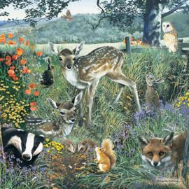 Otter House - Woodland Friends - 1000 stukjes