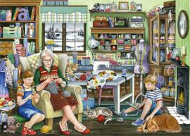 Falcon de Luxe 11273 - Granny's Sewing Room - 1000 stukjes