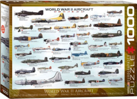 Eurographics 0075 - World War II Aircraft  - 1000 stukjes