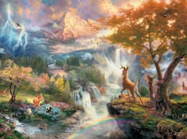 Disney Thomas Kinkade - Bambi - 1000 stukjes
