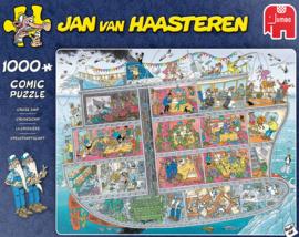 Jan van Haasteren - Cruiseschip - 1000 stukjes