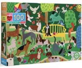eeBoo - Dogs at Play - 100 XXL stukjes