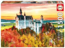 Educa - De Herfst in Neuschwanstein - 1500 stukjes