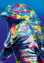 Bluebird - Dolphin - 1000 stukjes