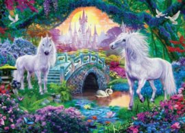 Eurographics 5363 - Unicorns in Fairy Land - 500XL stukjes