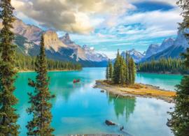 Eurographics 5430 - Maligne Lake Alberta - 1000 stukjes