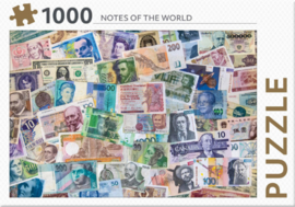 Rebo - Notes of the World - 1000 stukjes