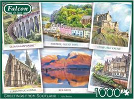 Falcon de Falcon 11325 - Greetings from Scotland - 1000 stukjes