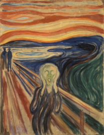 Piatnik Edvard Munch - The Scream - 1000 stukjes