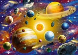 KS - Solar System - 1000 stukjes  (Glow in the Dark)
