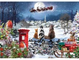 Otter House - Christmas Delivery  - 1000 stukjes