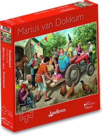 Art Revisited Marius van Dokkum - Landleven - 1000 stukjes