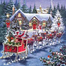 Otter House - Santa 's Sleigh - 1000 stukjes