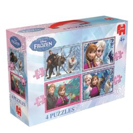 Jumbo 17429 Disney Frozen 4in1 35-50-70-100 stukjes