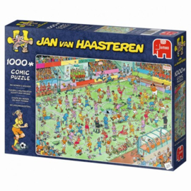 Jan van Haasteren - WK Vrouwenvoetbal - 1000 stukjes  Binnenkort Leverbaar