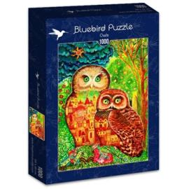 Bluebird - Owls - 1000 stukjes