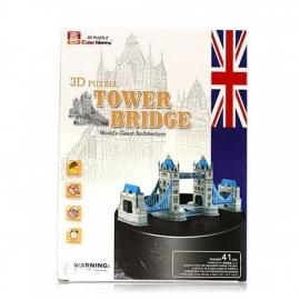 Cubic Fun 3D - Tower Bridge - 41 stukjes