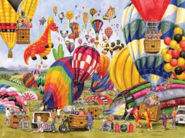 SunsOut 52406 - Balloon Landing - 1000 stukjes