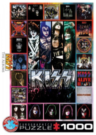 Eurographics 5305 - KISS the Albums - 1000 stukjes