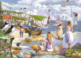 House of Puzzles - Sea Shore Breezes - 500XL stukjes