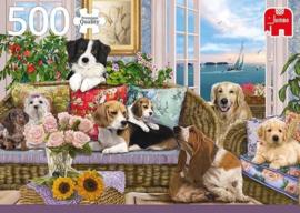 Jumbo - Furry Friends - 500 stukjes