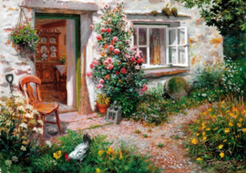 Wentworth - Roses Around the Door - 40 stukjes  (Stephen Darbishire)