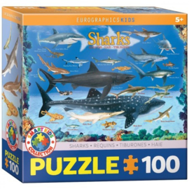 Eurographics 0079 - Sharks - 100XXL stukjes