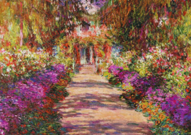 Pianik Claude Monet - Monet's Garden in Giverny - 1000 stukjes