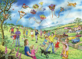 House of Puzzles - Let's Go Fly a Kite - 250XL stukjes